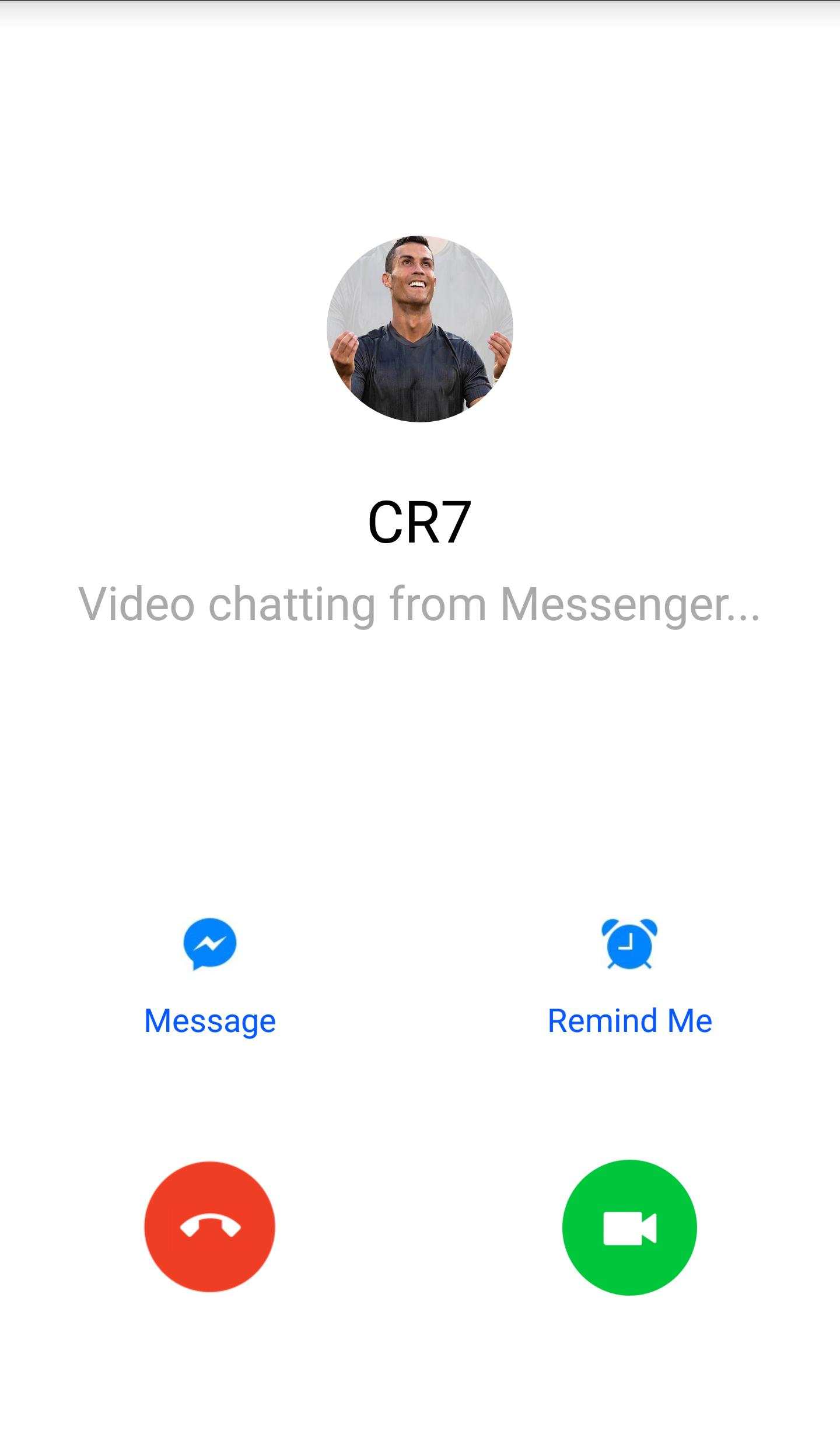 Fake Ronaldo Video Call for Android - APK Download