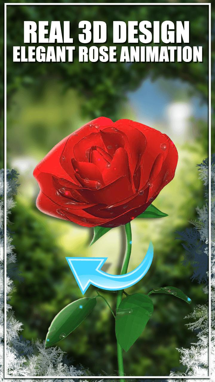 Wallpaper 3d Bunga Mawar For Android APK Download