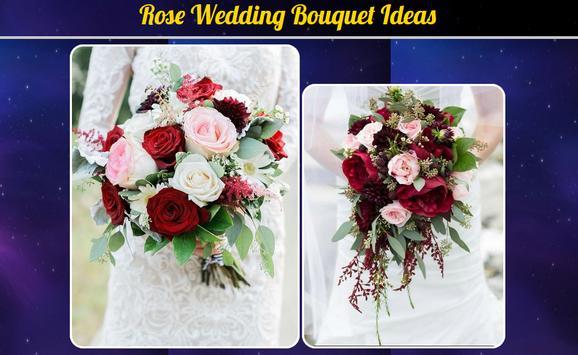 Rose Wedding Bouquet Ideas poster