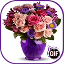 Roses and Flowers Animated Images Gif APK