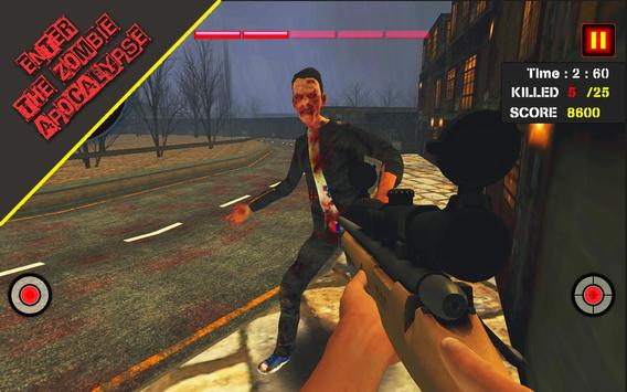 Dead Zombie Hunter 3D: Zombie Shooting Games screenshot 4