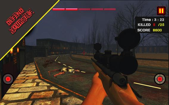 Dead Zombie Hunter 3D: Zombie Shooting Games screenshot 13