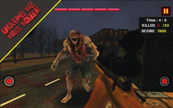 Dead Zombie Hunter 3D: Zombie Shooting Games screenshot 12