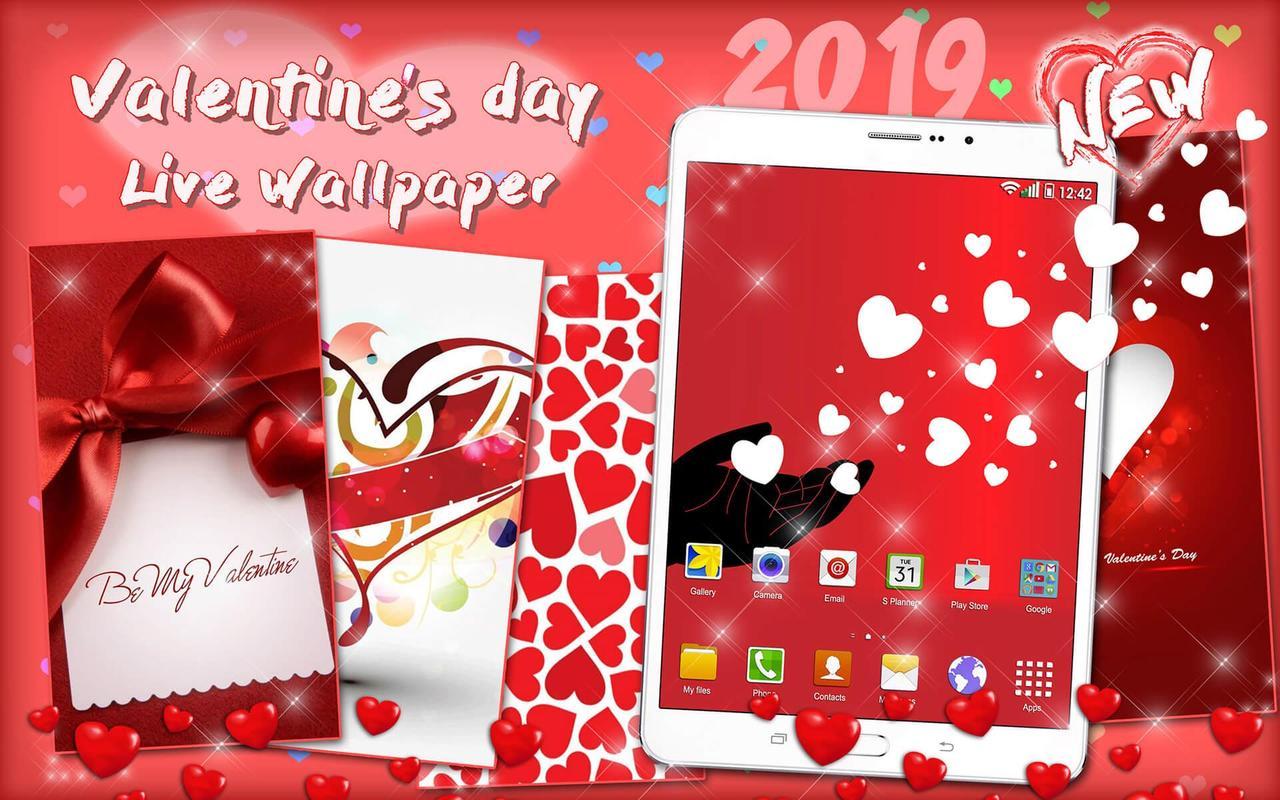 Hari Valentine Wallpaper Cinta Romantis Bergerak For Android Apk