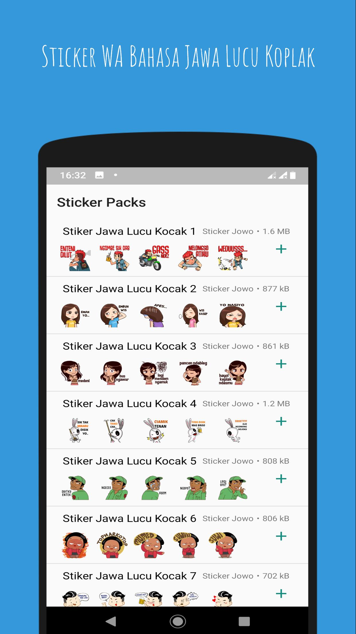 Sticker WA Bahasa Jawa Lucu Koplak For Android APK Download