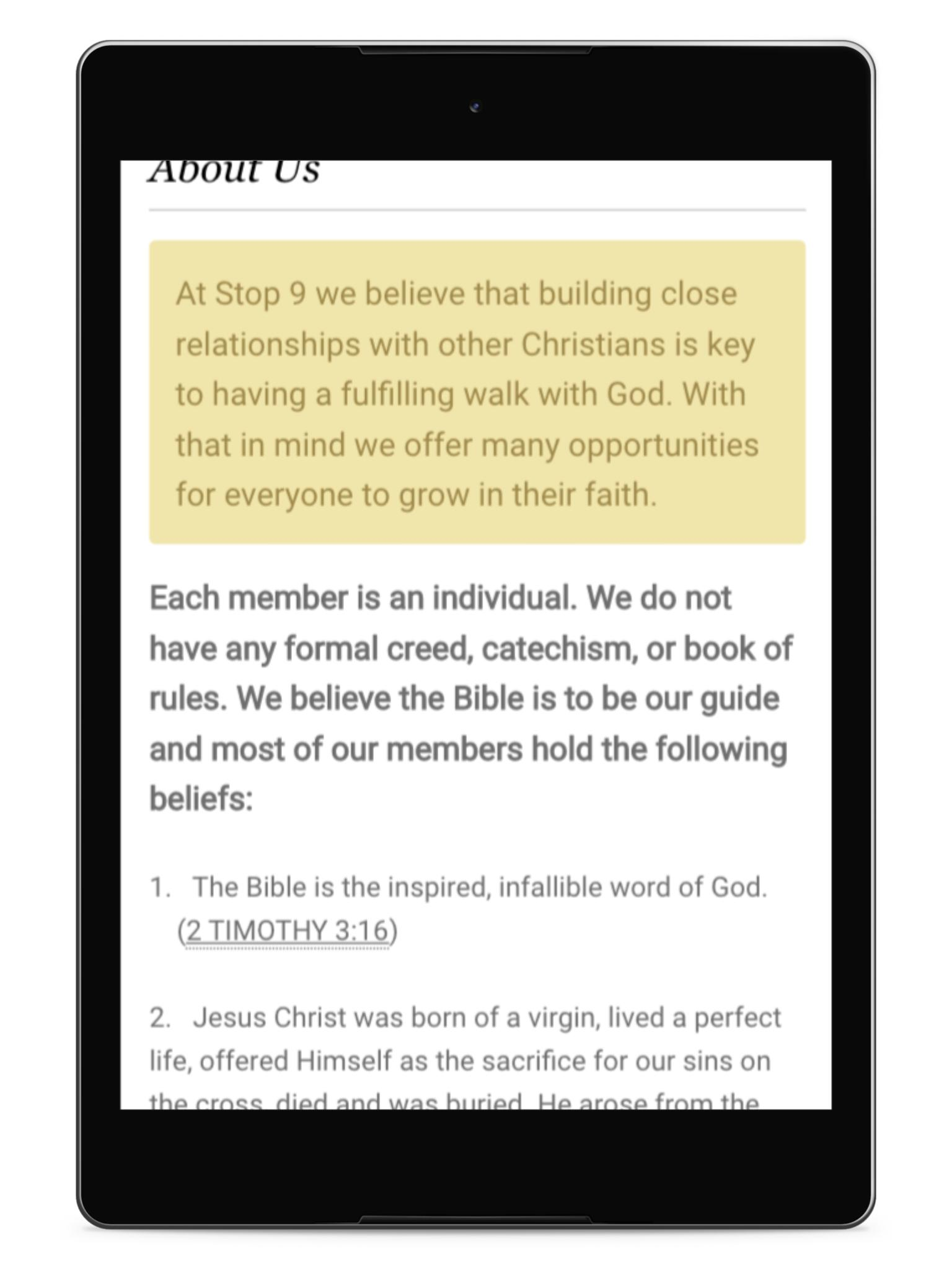Stop Nine Church of Christ for Android - APK Download