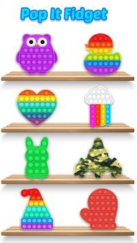 Pop it Fidget Toys 3D poster