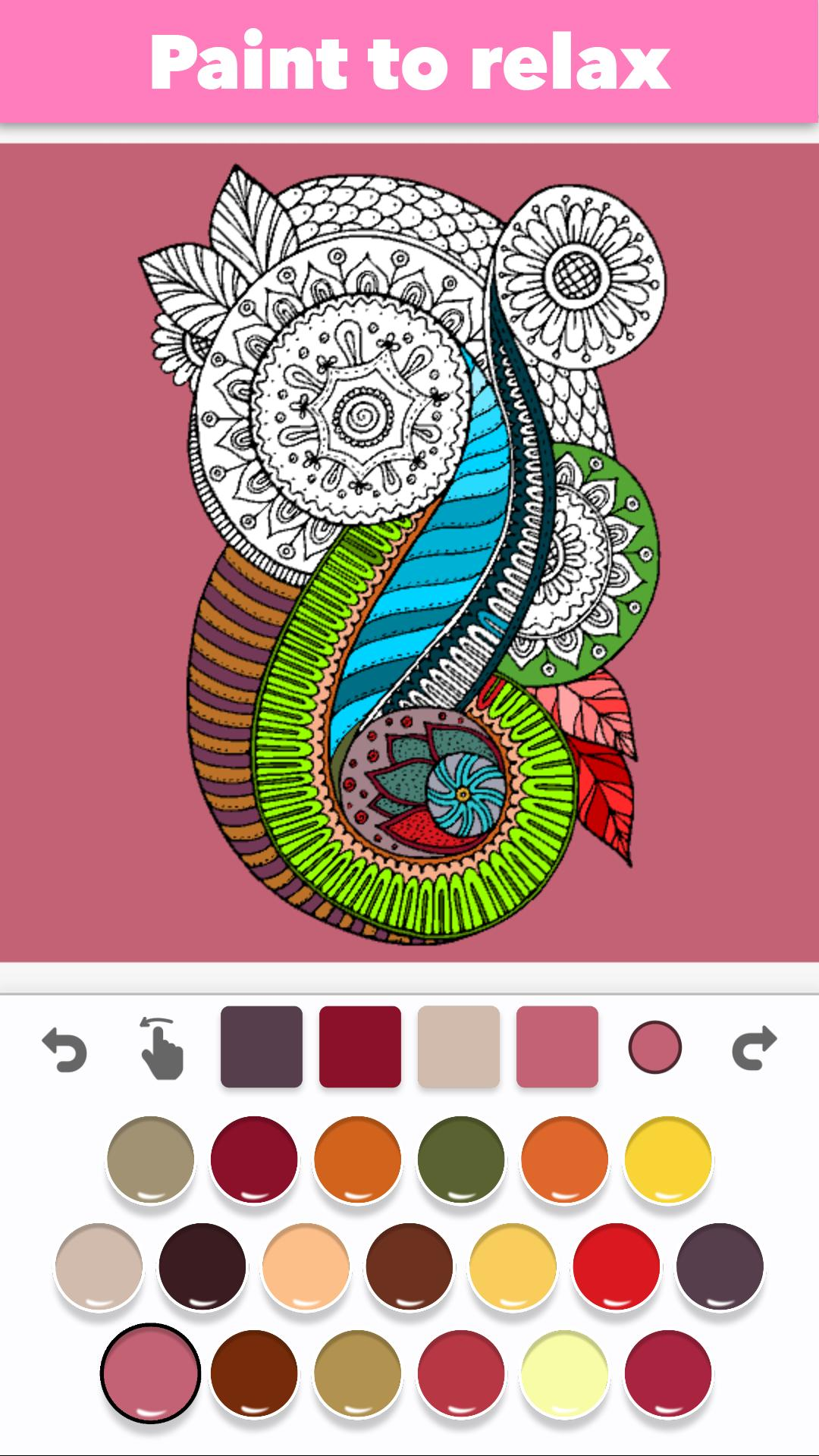 Color Draw: Coloring Book for Adults für Android - APK herunterladen