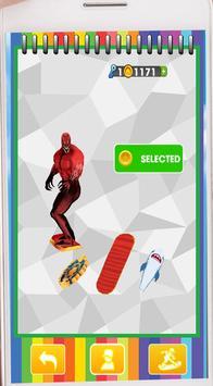 Subway Legends Venom Jump Toxi Red endless run screenshot 2