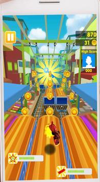 Subway Legends Venom Jump Toxi Red endless run screenshot 5
