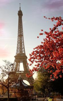 Sunny Paris Live Wallpaper screenshot 1