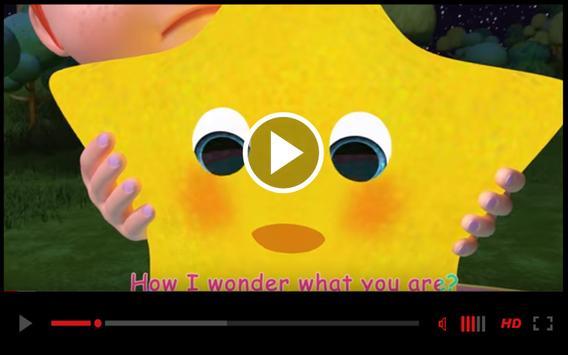 Best Twinkle Twinkle Little Kids Song Video screenshot 3