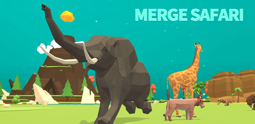 Merge Safari - Fantastic Animal Isle APK
