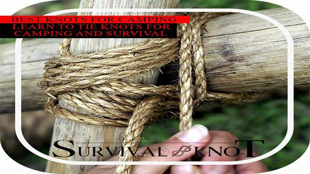 Survival Knot - Outdoor Knots poster