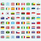 Memory Game - Flags icon