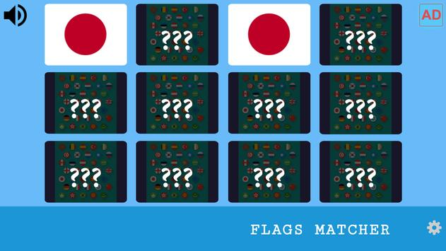 Memory Game - Flags poster