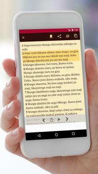 Swahili Audio Bible Offline screenshot 5