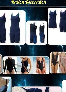 Swimwear design poster