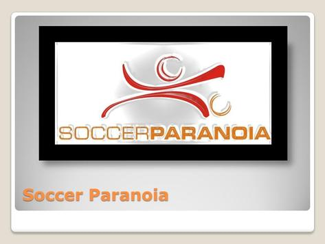 Soccer Paranoia-poster