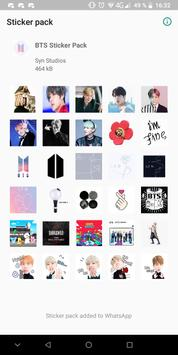 BTS Sticker Pack poster