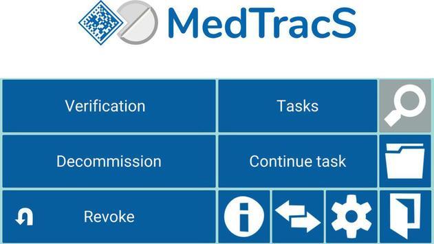 MedTracS screenshot 1