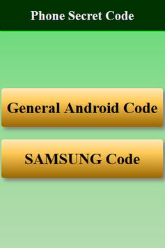 Mobiles Secret Codes of SAMSUNG screenshot 5