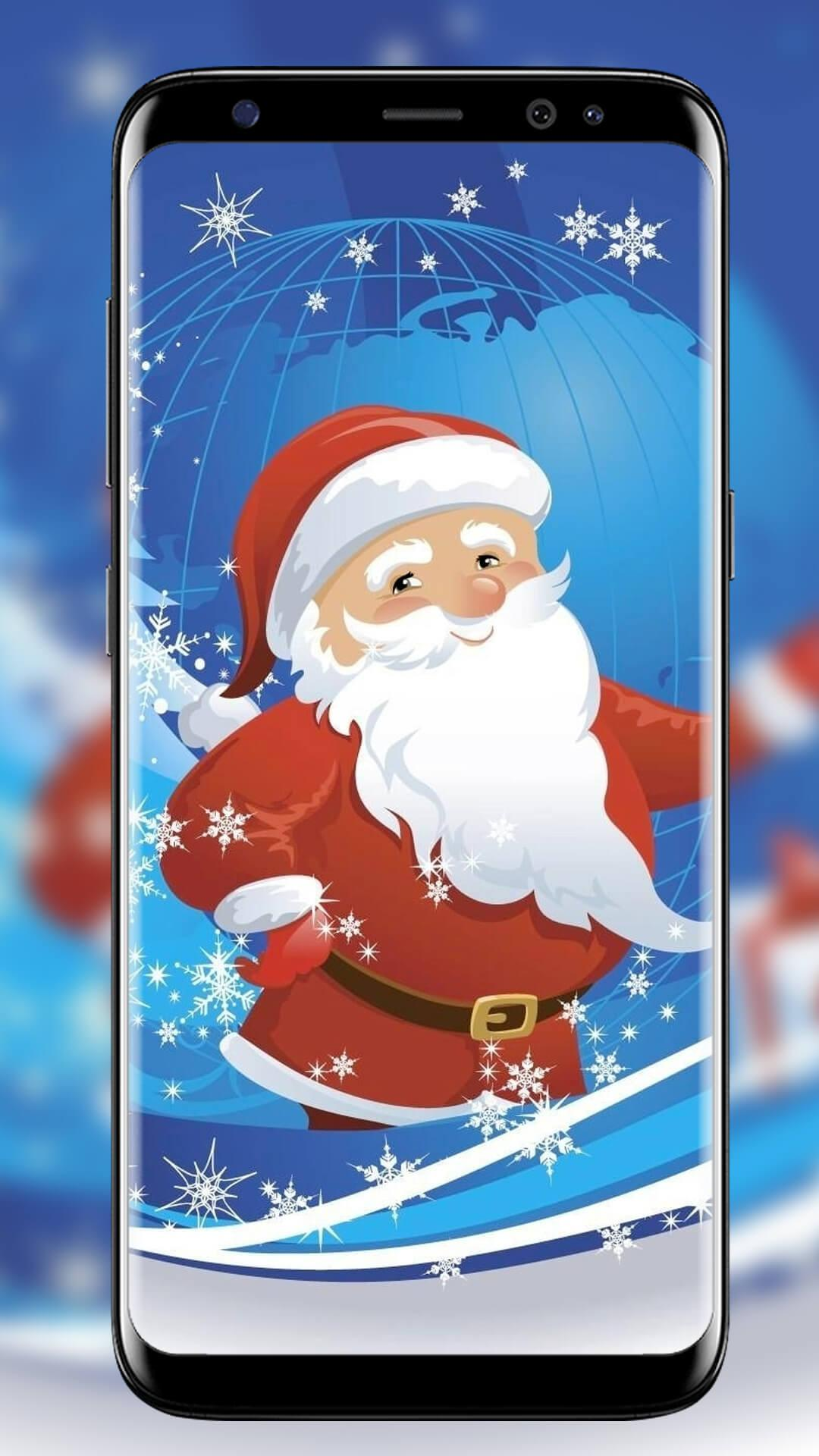Santa Claus Wallpaper Christmas Backgrounds New For