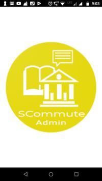 SCommute Admin poster