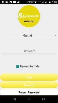 SCommute Admin screenshot 1