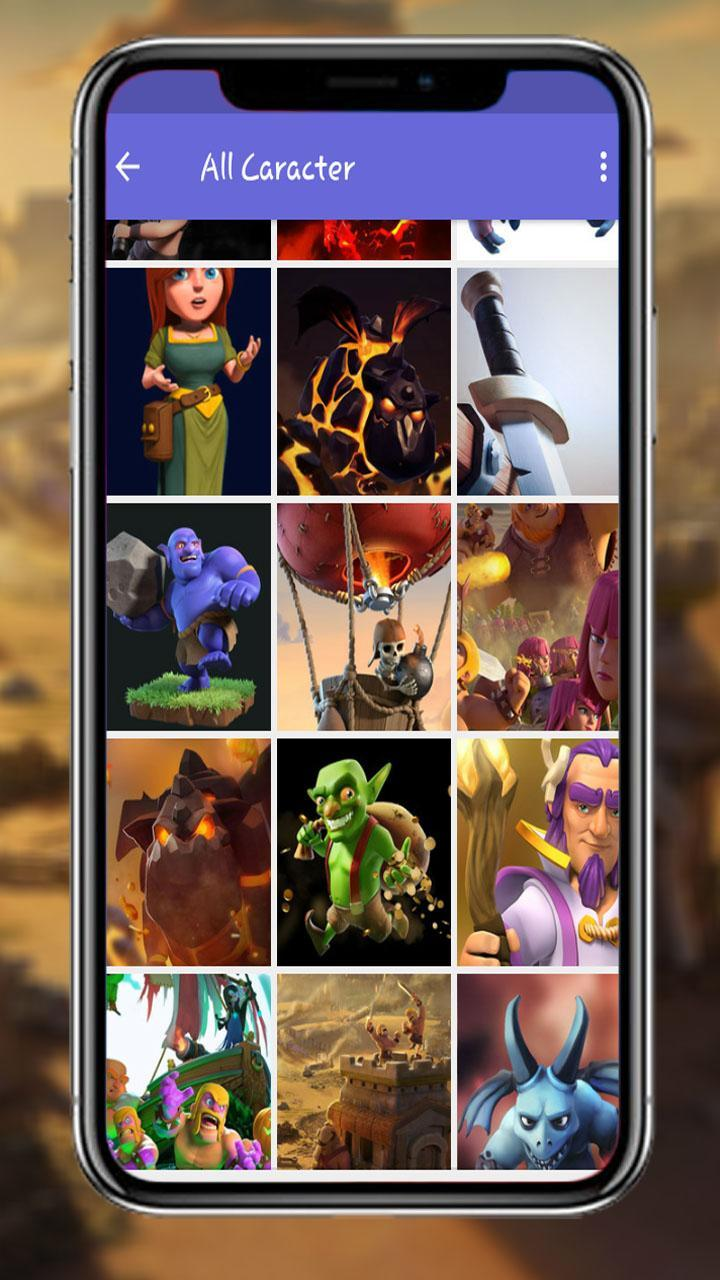 Full Coc Heroes Wallpaper HD For Android APK Download