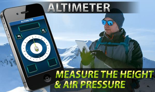Perfect Altitude Meter With Smart Gyro Compass poster
