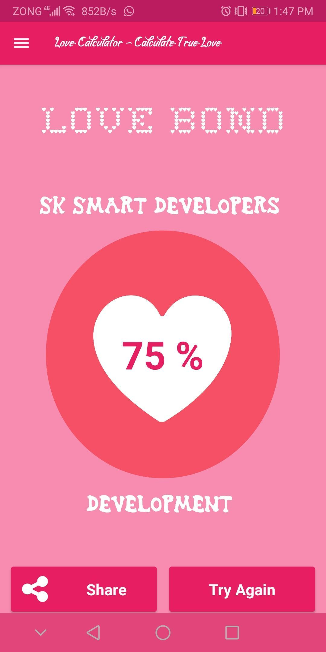 Love Calculator - Calculate True Love for Android - APK Download