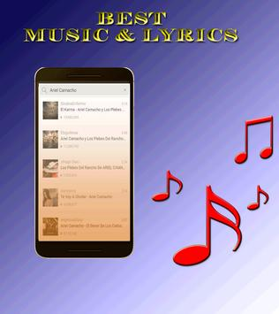 Musica de Ariel Camacho poster