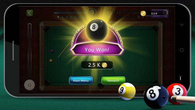 8 Ball Billiards- Offline Free Pool Game capture d'écran 7