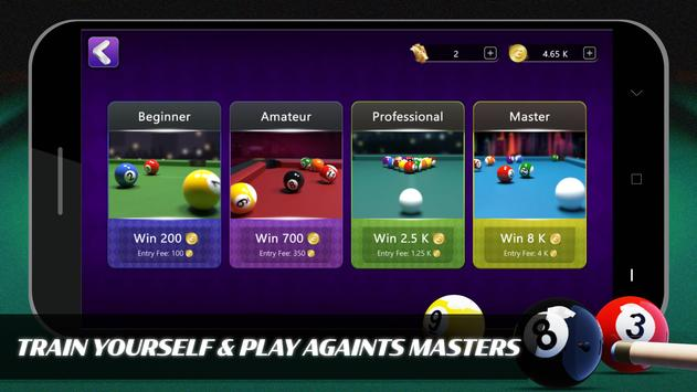 8 Ball Billiards- Offline Free Pool Game capture d'écran 9