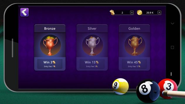 8 Ball Billiards- Offline Free Pool Game capture d'écran 14