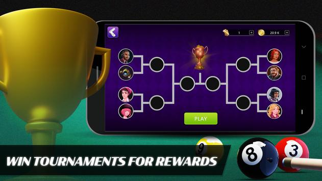8 Ball Billiards- Offline Free Pool Game screenshot 2