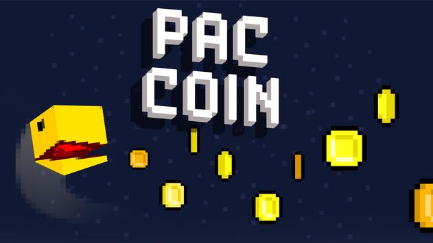 PAC-COIN - Retro Party SNES Mission Man Game poster