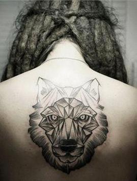 Wolf Tattoo Design screenshot 1
