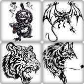 Dessins Tatouage Animaux icon