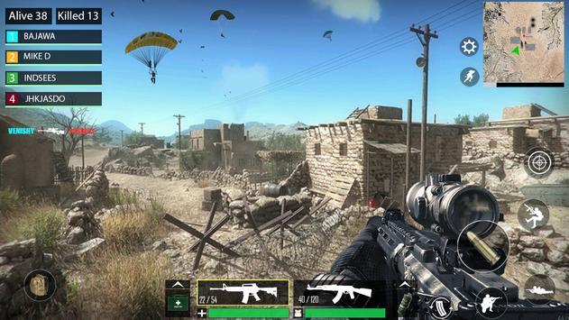 Desert War Cartaz