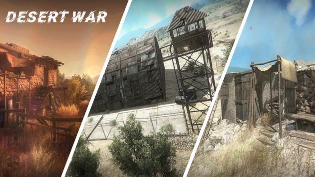 Desert War captura de pantalla 3