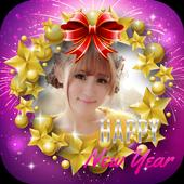 🎊 Happy New Year Photo Frame 2020 icon
