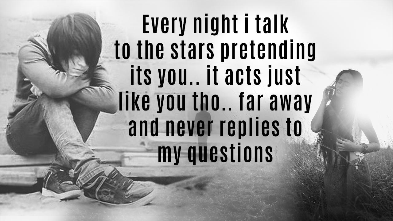 Sad Emo Quotes On My Pic Blender for Android - APK Download