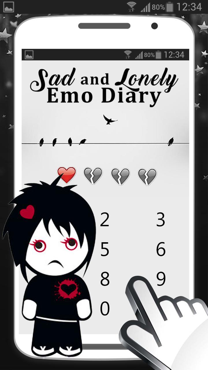 Gambar Emo Aplikasi Buku Harian For Android APK Download