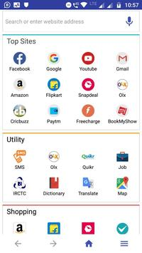 X Browser screenshot 2