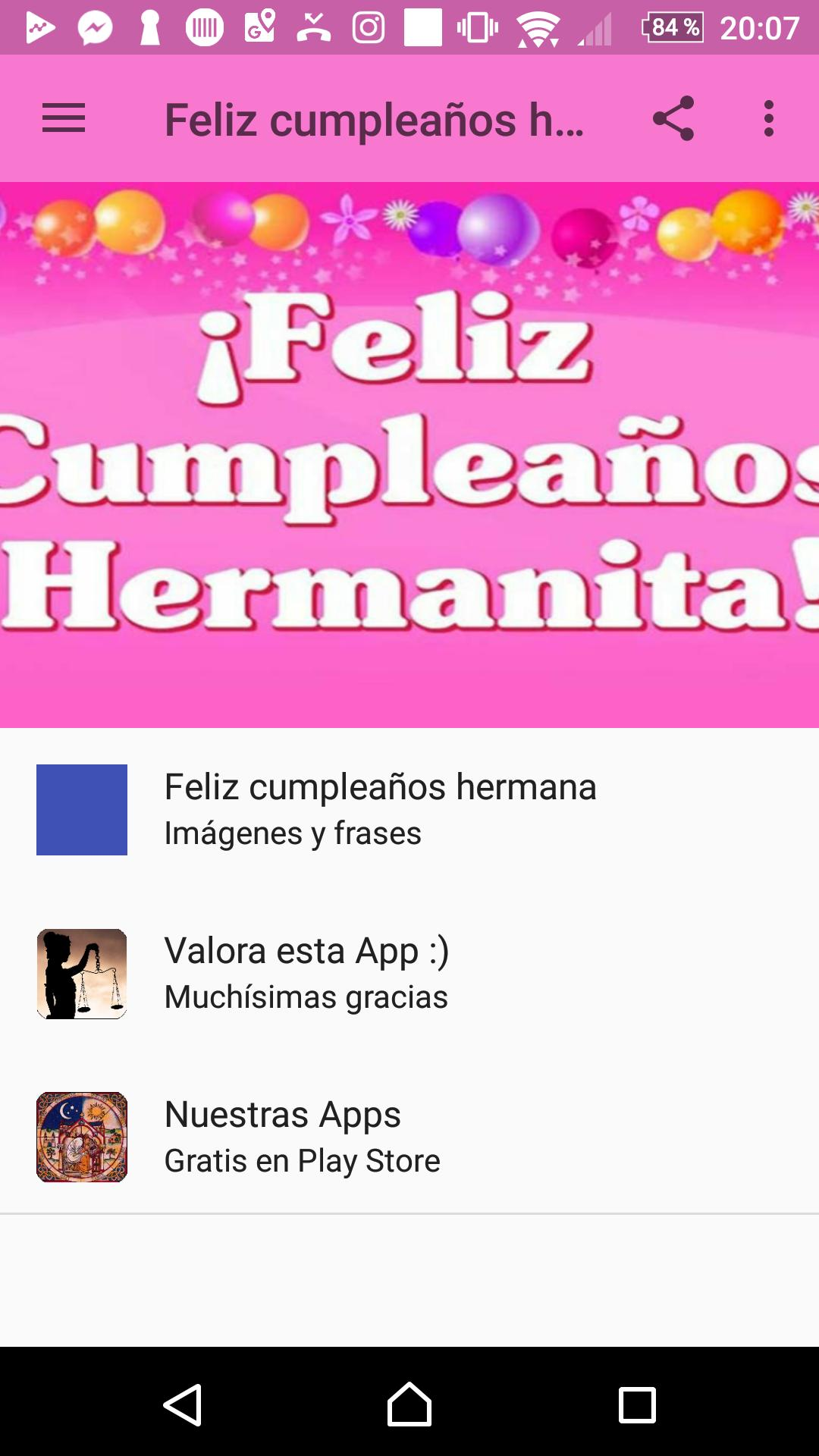 Feliz Cumpleaños Hermana For Android Apk Download