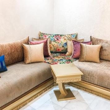 cute Moroccan living room - Modern and traditional poster