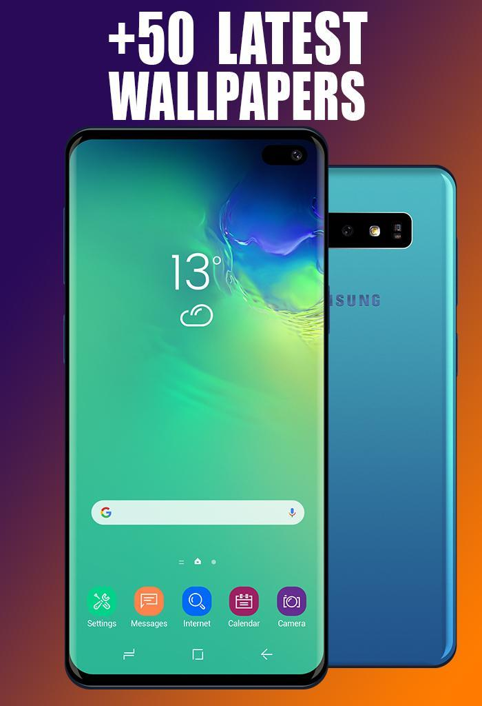 Samsung S10 Wallpaper Galaxy S10 Background For Android