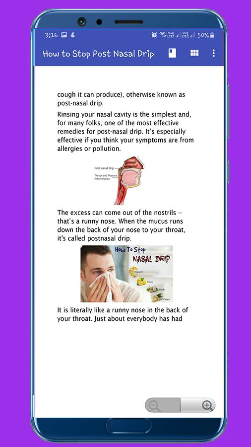 How to Stop Post Nasal Drip for Android - APK Download